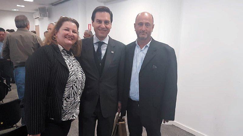 Prefeito Vagão se reúne com o secretário da Agricultura em São Paulo