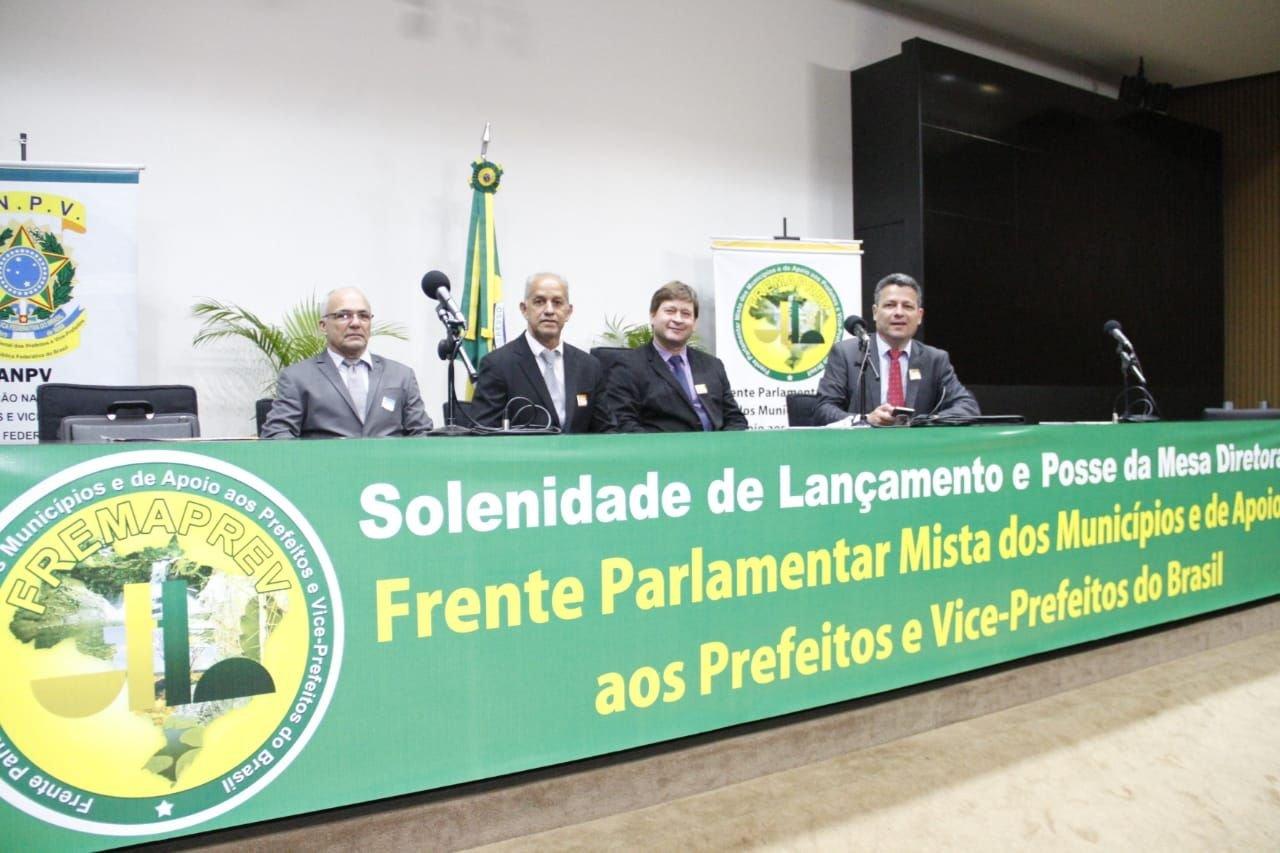 Bijuca participa de evento municipalista em Brasília