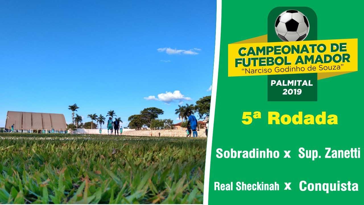 TV JC – Confira os detalhes da quinta rodada do Campeonato Amador de Palmital